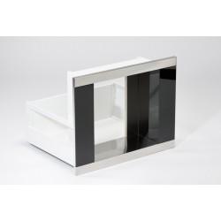 KAFEbox nerez, černé sklo