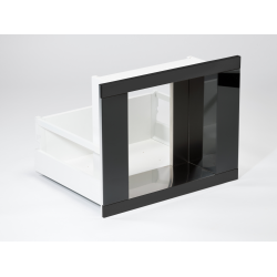KAFEbox černý, černé sklo